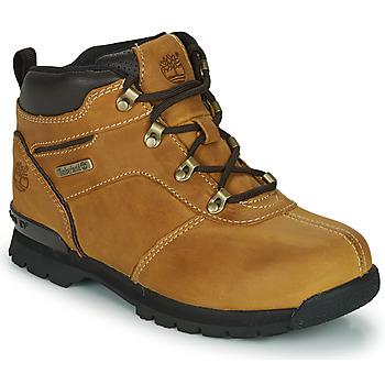 Pantofi Copii Ghete Timberland SPLITROCK 2 Maro