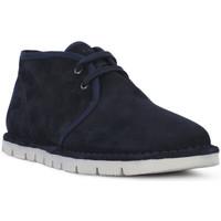 Pantofi Bărbați Ghete Frau SUEDE BLU Blu