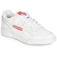 Pantofi Pantofi sport Casual Reebok Classic WORKOUT PLUS MU Alb / Roșu