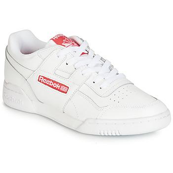 Încăltăminte Pantofi sport Casual Reebok Classic WORKOUT PLUS MU Alb / Roșu