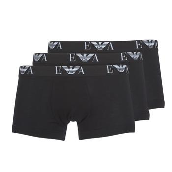 Lenjerie intimă Bărbați Boxeri Emporio Armani CC715-111357-21320 Negru
