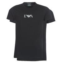 Îmbracaminte Bărbați Tricouri mânecă scurtă Emporio Armani CC715-111267-07320 Negru
