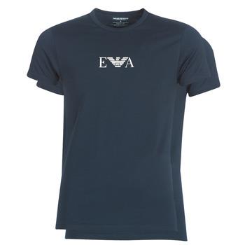 Îmbracaminte Bărbați Tricouri mânecă scurtă Emporio Armani CC715-111267-27435 Albastru