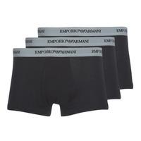 Lenjerie intimă Bărbați Boxeri Emporio Armani CC717-111357-00120 Negru