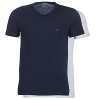 Îmbracaminte Bărbați Tricouri mânecă scurtă Emporio Armani CC722-111648-15935 Albastru / Gri