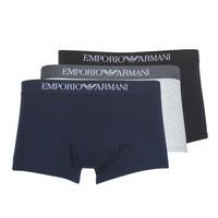 Lenjerie intimă Bărbați Boxeri Emporio Armani CC722-111610-94235 Bleumarin / Gri / Negru