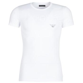 Îmbracaminte Bărbați Tricouri mânecă scurtă Emporio Armani CC716-111035-00010 Alb