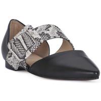 Pantofi Femei Balerin și Balerini cu curea Priv Lab NAPPA NERO Nero