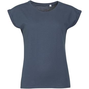 Îmbracaminte Femei Tricouri mânecă scurtă Sols MELBA TROPICAL GIRL Azul