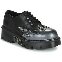 Pantofi Bărbați Pantofi Derby New Rock M-1553-C3 Negru