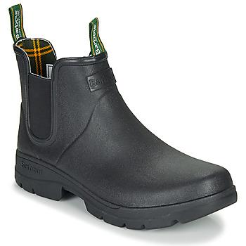Pantofi Bărbați Cizme de cauciuc Barbour FURY CHELSEA Negru