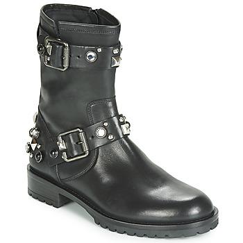 Pantofi Femei Ghete Tosca Blu GISELLE Negru