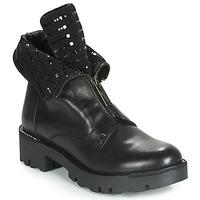 Pantofi Femei Ghete Tosca Blu DIANE Negru