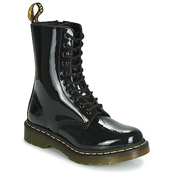 Pantofi Femei Ghete Dr Martens 1490 PATENT LAMPER Negru