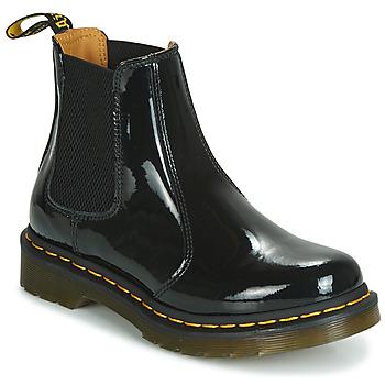 Pantofi Femei Ghete Dr Martens 2976 PATENT LAMPER Negru