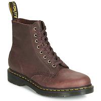 Pantofi Bărbați Ghete Dr Martens 1460 PASCAL Maro
