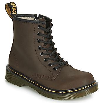 Pantofi Copii Ghete Dr Martens 1460 SERENA JUNIOR Maro