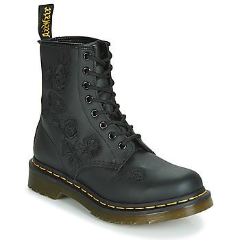 Pantofi Femei Ghete Dr Martens 1460 VONDA MONO SOFTY T Negru