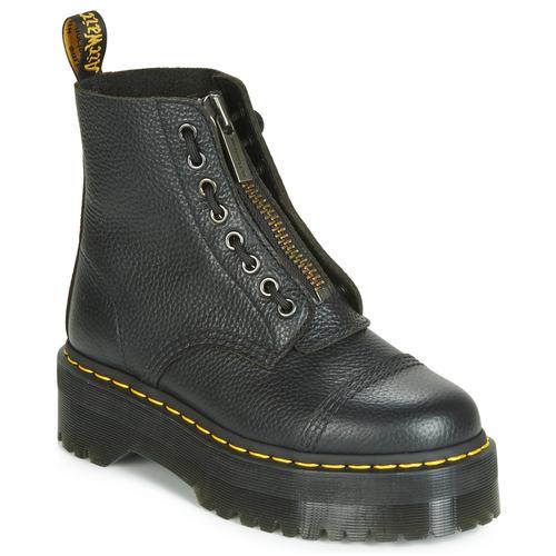 Pantofi Femei Ghete Dr Martens SINCLAIR AUNT SALLY Negru
