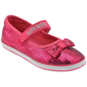 Pantofi Fete Balerin și Balerini cu curea Lelli Kelly  roz