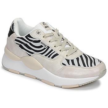 Pantofi Femei Pantofi sport Casual MTNG 69867-C47433 Negru / Alb