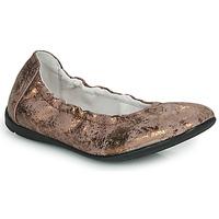 Pantofi Fete Balerin și Balerini cu curea Ramdam LIBRE Bronz
