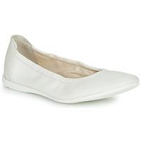 Pantofi Fete Balerin și Balerini cu curea Ramdam LIBRE Alb