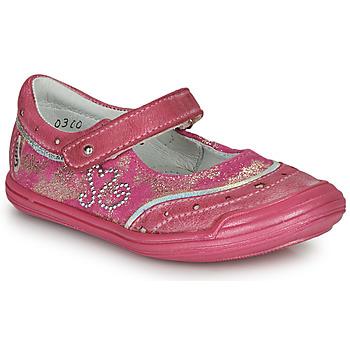 Pantofi Fete Balerin și Balerini cu curea GBB ILEANA Roz
