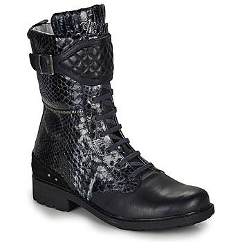 Pantofi Fete Cizme casual Ikks KIMBERLEY Negru