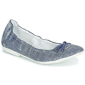 Pantofi Fete Balerin și Balerini cu curea Ramdam KIKI Albastru