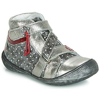Pantofi Fete Ghete GBB NADETTE Argintiu
