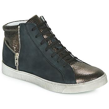 Pantofi Fete Pantofi sport stil gheata Achile CARLA Negru