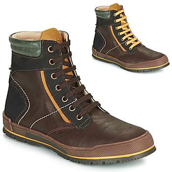 Pantofi Băieți Ghete Achile MANUEL Maro