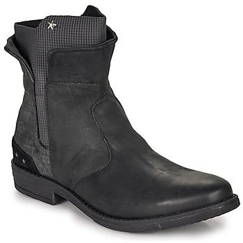 Pantofi Fete Ghete Ikks PAMELA Negru