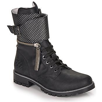 Pantofi Fete Cizme casual Ikks PEGGY Negru