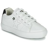 Pantofi Fete Pantofi sport Casual Ikks MOLLY Alb / Negru