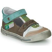 Pantofi Băieți Sandale  GBB PEPINO Maro / Bej / Verde