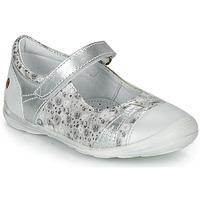 Pantofi Fete Balerin și Balerini cu curea GBB PRINCESSE Argintiu