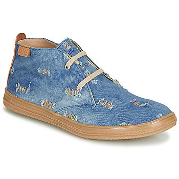 Pantofi Fete Pantofi sport stil gheata Achile ANDREA Albastru