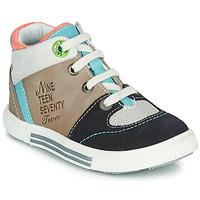 Pantofi Băieți Pantofi sport stil gheata Catimini PIMENT Bej