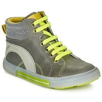 Pantofi Băieți Pantofi sport stil gheata Catimini PAPYRUS Gri