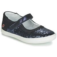 Pantofi Fete Balerin și Balerini cu curea GBB PLACIDA Bleumarin