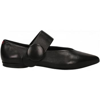 Pantofi Femei Balerin și Balerini cu curea Halmanera LOU BARON nero