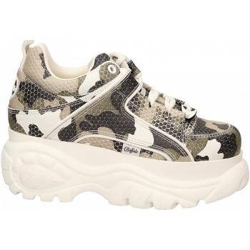 Pantofi Femei Pantofi sport Casual Buffalo 1339-14 LEATHER camouflage