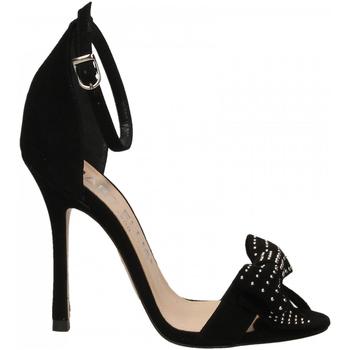 Pantofi Femei Sandale  Marc Ellis CAMOSCIO nero