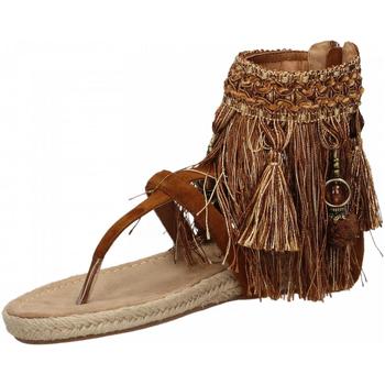 Pantofi Femei Sandale  La Carrie INDRADITO C.FRANGE brown-marrone