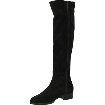 Pantofi Femei Cizme lungi peste genunchi Lorenzo Masiero STIV.ELAS STRETCH nero-nero