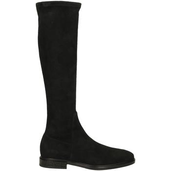Pantofi Femei Cizme casual Alberto Gozzi ROSITA CAMOSCIO nero-nero