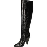 Pantofi Femei Cizme lungi peste genunchi Giampaolo Viozzi CONO TORTUGHINO nero-nero