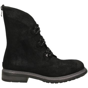 Pantofi Femei Ghete Poesie Veneziane BLITZ nero-nero